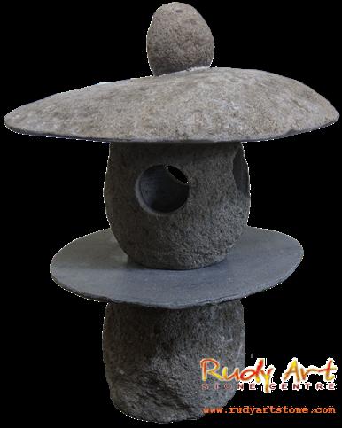 Mushroom Garden Lamp Image